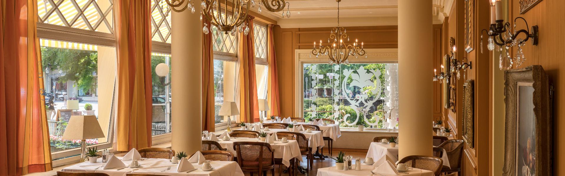 Restaurant & Winter Garden - Atlantic Parkhotel - Baden-Baden